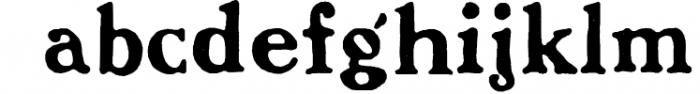 Benjamin Franklin (promotional pack) 1 Font LOWERCASE