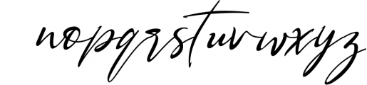 Bestowens family 1 Font LOWERCASE