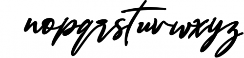 Bestowens family 2 Font LOWERCASE