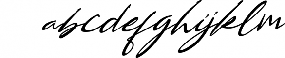 Bestowens family 3 Font LOWERCASE