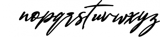 Bestowens family 7 Font LOWERCASE