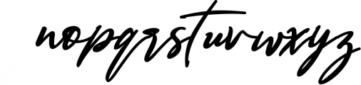 Bestowens family 8 Font LOWERCASE