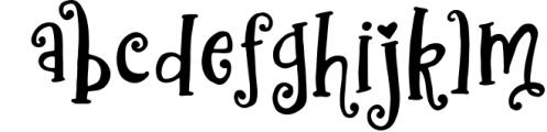 Better Be Lovely Font Font LOWERCASE