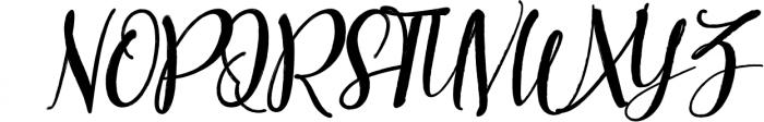 Better Brush 1 Font UPPERCASE