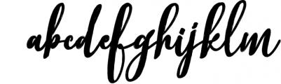 Better Brush 1 Font LOWERCASE