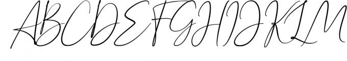Bettrish // Stylish Signature Font 1 Font UPPERCASE