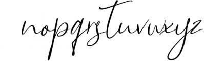 Bettrish // Stylish Signature Font 1 Font LOWERCASE