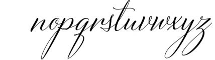Bettrisia Script - Elegant Calligraphy Font 1 Font LOWERCASE