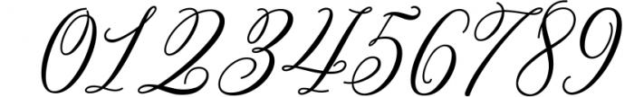 Bettrisia Script - Elegant Calligraphy Font Font OTHER CHARS