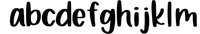 Bewilderment - Simple Handwritten Font Font LOWERCASE