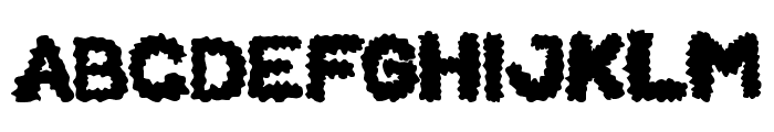 BEARD Rider Font UPPERCASE