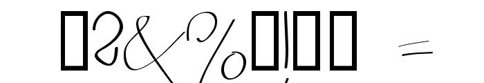 BERGERBERGER 1234567890 Light Font OTHER CHARS
