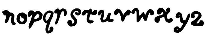 BERKY Font LOWERCASE