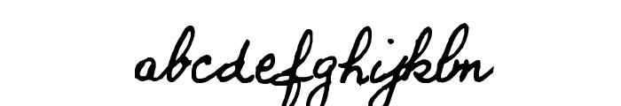 BERNARD Font LOWERCASE