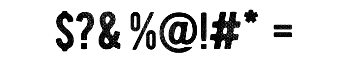BERNIERDistressed-Regular Font OTHER CHARS