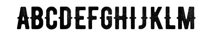 BERNIERDistressed-Regular Font UPPERCASE