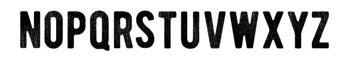 BERNIERDistressed-Regular Font LOWERCASE