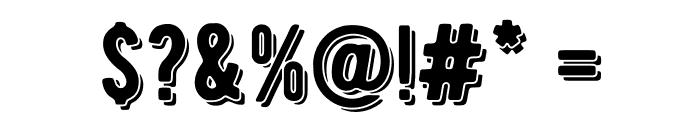 BERNIERShade-Regular Font OTHER CHARS
