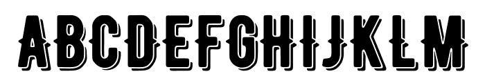 BERNIERShade-Regular Font UPPERCASE
