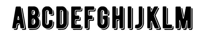 BERNIERShade-Regular Font LOWERCASE
