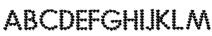 Be My Valentine Font LOWERCASE