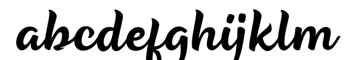 Be Strong Font LOWERCASE