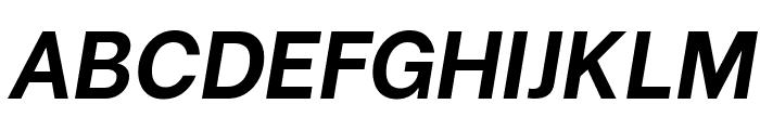 Be Vietnam Bold Italic Font UPPERCASE
