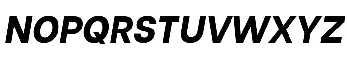 Be Vietnam ExtraBold Italic Font UPPERCASE