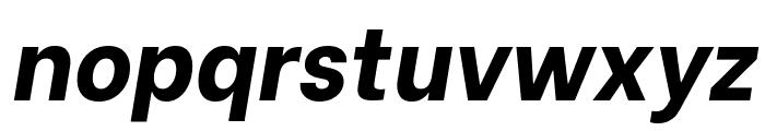 Be Vietnam ExtraBold Italic Font LOWERCASE