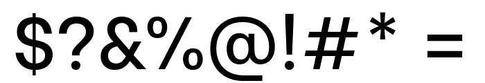 Be Vietnam Medium Font OTHER CHARS