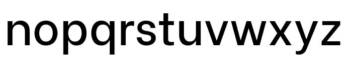Be Vietnam Medium Font LOWERCASE