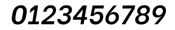 Be Vietnam SemiBold Italic Font OTHER CHARS
