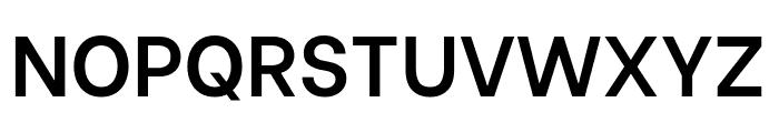 Be Vietnam SemiBold Font UPPERCASE