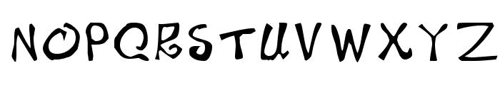 BeachType  Medium Font LOWERCASE