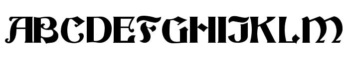 Beacon Font UPPERCASE