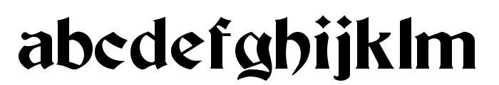 Beacon Font LOWERCASE