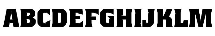 Beagle Brigade AU Bold Font UPPERCASE
