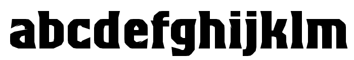 Beagle Brigade AU Bold Font LOWERCASE