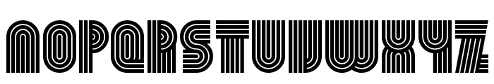 Beamie Font LOWERCASE