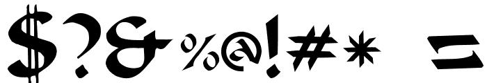 Beanie Plain: Font OTHER CHARS
