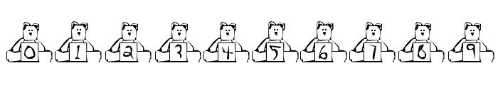 BearBox Font OTHER CHARS