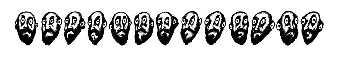 Beard Man Regular Font UPPERCASE