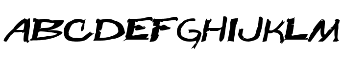 Beast Wars Font UPPERCASE