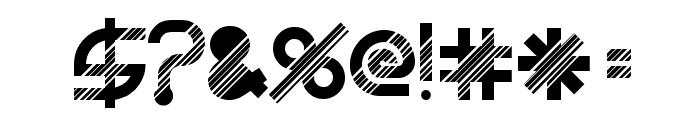 BeastModeDisco Font OTHER CHARS