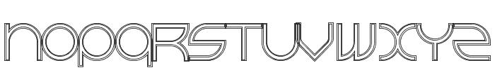 BeastModeDoubleline Font LOWERCASE