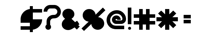 BeastModeSolid Font OTHER CHARS