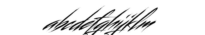 Beastform Font LOWERCASE