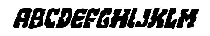 Beastian Italic Font UPPERCASE