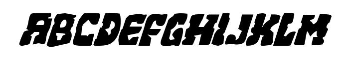 Beastian Italic Font LOWERCASE