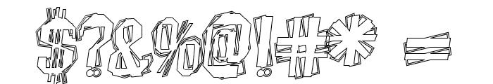 BeatnikHayseed Font OTHER CHARS